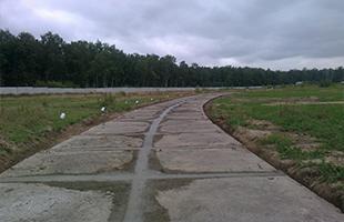 Устройство (укладка) покрытий автомобильных дорог плитами типа «ПАГ», дорожными плитами